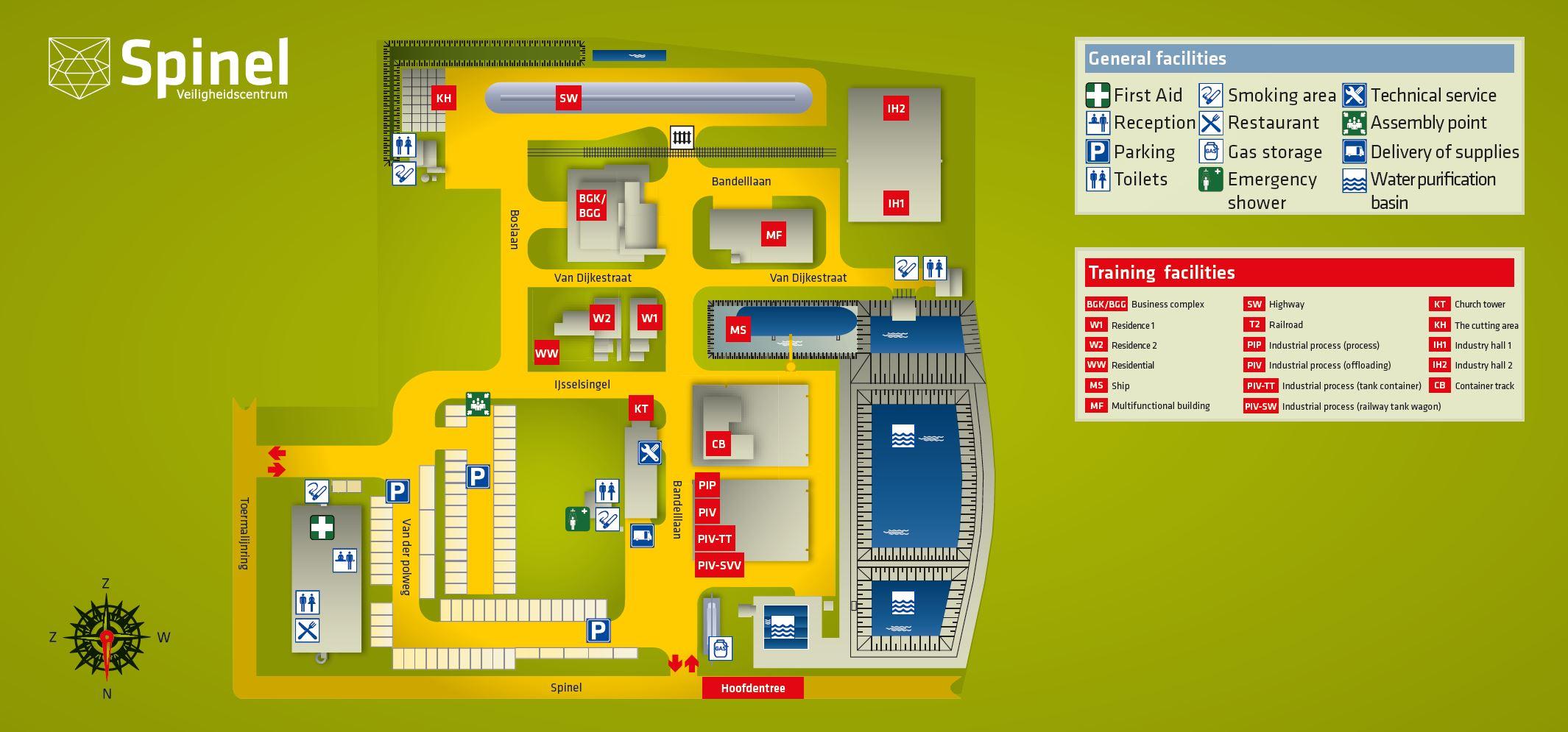 Plan Spinel Safety Center